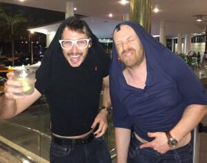 Тайлер и Алекс из РСД могут везде найти друзей