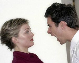 в парах надо уметь жить красиво и без оскорблений друг друга