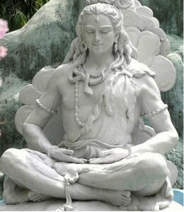 памятник медитации человека вне дома
