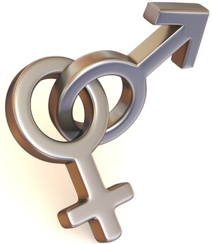 символ мужской и женской любви