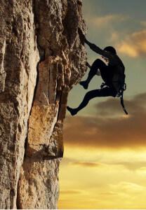 скалолазание навсегда остается в памяти и помогает избавиться от страхов