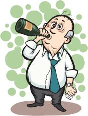 Мужик пьет алкоголь и не знает как избавиться от зависимости