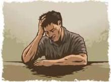 депрессия у мужика