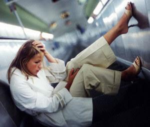 как проявляется паника у человека в метро
