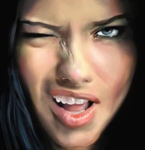 Адриана Лима - известная девушка-модель, которая нравится многим мужчинам