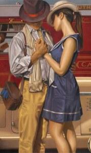 мужик умеет правильно общаться с женщиной