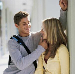 первое свидание молодых людей, которые долго будут говорить друг с другом