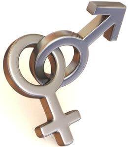 символ мужской и женской любви для того, чтобы познакомиться и сблизиться