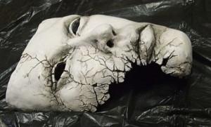 маска для бала у девушек с разбитым краем