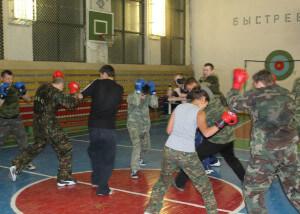 тренировка из рукопашного боя для того, чтобы перестать бояться боя