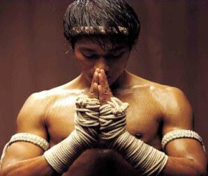 истинный боец знает как перестать нервничать и собрать волю в кулак