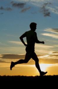 утренняя пробежка с целью побороть свою лень