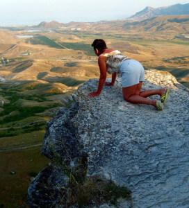 Женщина не может избавиться от страха высоты