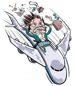 панические атаки во время полета на самолете