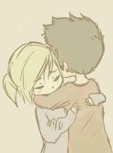два человека очень сильно любят друг друга и не могут разлюбить