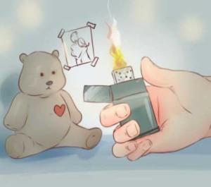 Избавление от подарков бывшего человека помогает его разлюбить