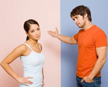 расставание и разрыв отношений между парнем и девушкой