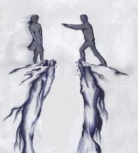 парень с любимой девушкой не готовы пережить расставание