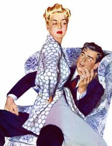 муж выясняет причину, по которой жена не хочет с ним общаться